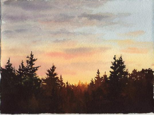 Susie Short Watercolors Watercolor Landscapes