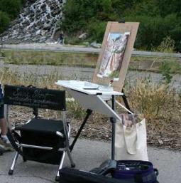 susie s watercolor tips painting en plein air