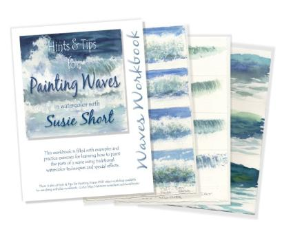 Hints & Tips for Painting Waves Workbook