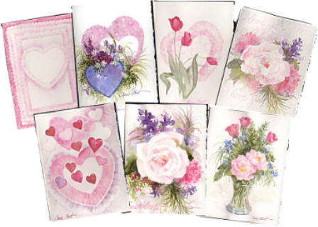 Valentine Cards by Susie Short