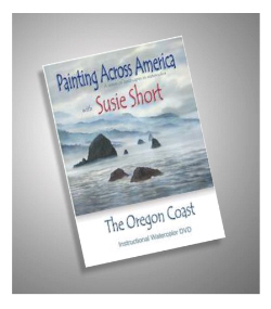 Painting the Oregon Coast in watercolor with Susie Short